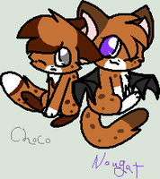 JD.:Choco and Nougat:. by MillyTheTigerKitten