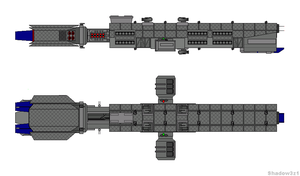 Apollo Missile Cruiser by shadow3z1