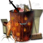 Steampunk Recycle Bin Icon MkIII by yereverluvinuncleber