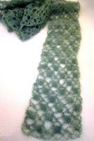 Luna Moth Lace Scarf by the-carolyn-michelle