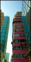 Pink Building by partoftime