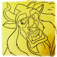 Sketch 17: The Beast. by pascalscribbles