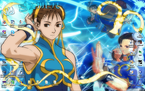Chun-Li Wallpaper by NYAssassin