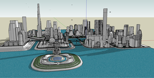 city future by emppyrean