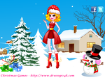 Flying Christmas - Dress up Games by willbeyou