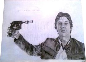 Han Solo - Never Tell Me The Odds by justmeonasailboat