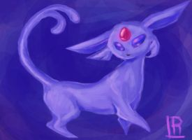 espeon by LuLuLiore