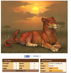 Katniss for sale on Lioden! by NantheCowdog