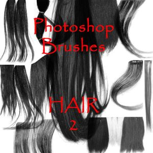 Photoshop HAIR brushes pack 08