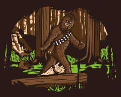 The Bigfoot of Endor by alsnow