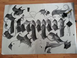 Happy Calligraphy !! :) by Ciillk