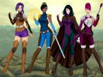 Storm Hawks Girls! by RynnMar