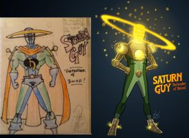 Saturn Guy 1995-2011 by DBed