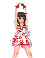 Katy Perry PNG (Caricature) by danperrybluepink