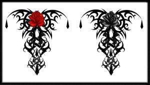 Flower Lower Back Rose Tattoo Designs Picture 8