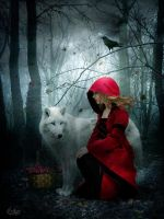 Little Red Riding Hood by EstherPuche-Art