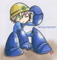 .:Wrong Helmet little boy:. by Ainu