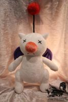 Moogle Plush - Final Fantasy X by Forge-Your-Fantasy