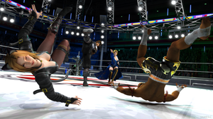 Dead or Alive 5 Tag Battle by James--C