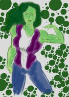 She-Hulk (Feb. 2013) by fmvra1s