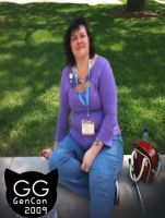 GenCon with MChel 2009 by Groovygoddess