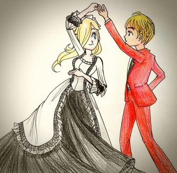 AT: With my Princess by Derochi