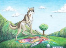 A Dream (colored version) by Amyloup