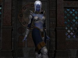 Drow Sorceress by Averall