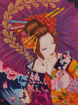 Geisha by hydraa