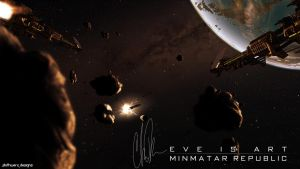 EVE is Art 3 - Minmatar Republic by SlothDesigns