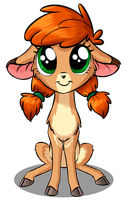 One little fawn by Sirzi