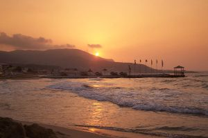 Sunset Stalis Crete by henzunducks