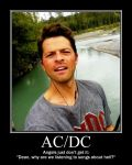 When Cas Discovers iTunes by BecomingaWallflower