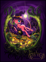 Mew Halloween by Derranged