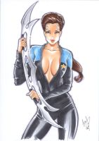 Jadzia Dax by Elias-Chatzoudis