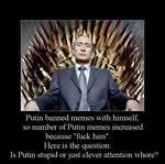 The Putin Question by Rayder3d