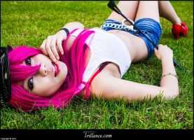 STREET FIGHTER Poison Cosplay by xKaochii