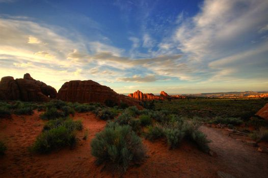 Arches Sunset 02 by ubu
