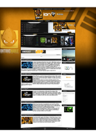 UNTOUCHABLE GAMING WEBSITE by drac3