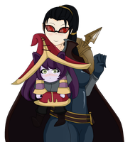 vayne and lulu by bankaiser