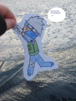 Kakashi likes his MOOMOO XD by candymountain123