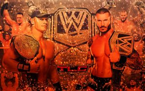 John Cena X Randy Orton TLC 2013 by TheAwesomeJeo
