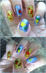 Fruits Manicure by MikariStar