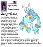 Captainyokai's Persona - Gong Gong by Aonon