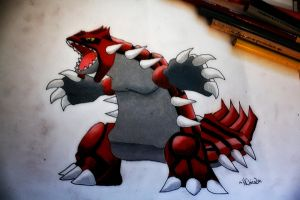 Groudon by NChicaGFX