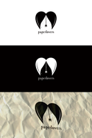 Paperlovers logotype by polska753