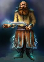 Dwarf magical craftsman by E-leah