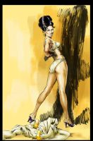 Robert McGinnis study 01 by ShawnVanBriesen