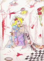 Alice in underground by Lady-Fayble