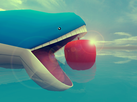 The Giant Apple by Drimmo